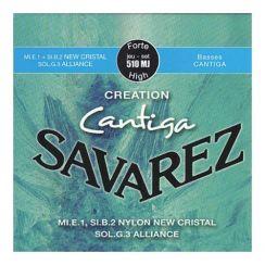 Savarez Cantiga Creation - 510 MJ High Tension snaren voor de klassieke gitaar