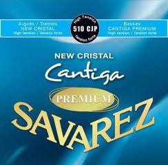 Savarez Premium New Cristal Cantiga - 510 CJP High Tension snaren voor de klassieke gitaar