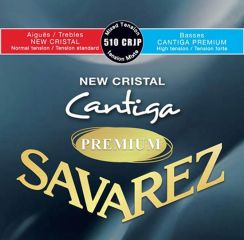 NIEUW! Savarez Premium New Cristal Cantiga - 510 CRJP Mixed High Tension bassen en Normal Tension trebles