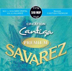 Savarez Premium Cantiga Creation - 510 MJP High Tension snaren voor de klassieke gitaar