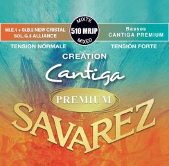 Savarez Premium Cantiga Creation - 510 MRJP Mixed set High Tension bassen en Normal Tension Trebles