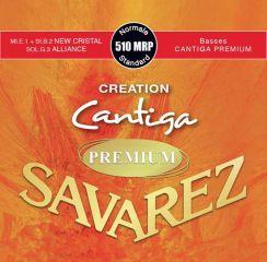 Savarez Premium Cantiga Creation - 510 MRP Standard Normal Tension snaren voor de klassieke gitaar