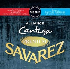 Savarez Premium Alliance Cantiga 510 ARJP Mixed Tension - High Tension Bassen en Normal Tension Trebles