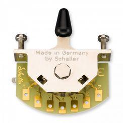 Schaller Megaswitch E 5-Standenschakelaar met Zwarte Tip - 15310002
