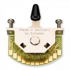 Schaller Megaswitch M 5-Standenschakelaar met Zwarte Tip - 15310006