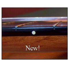 Fret stippen voor Akoestische Gitaar en Klassieke gitaar - Rosette Fret Dots Small Ivory Guitar Markers