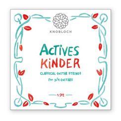 Knobloch 300AKI snarenset voor de Driekwart 3/4 Klassieke Gitaar - Actives Kinder
