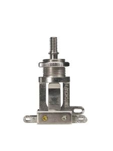 Switchcraft Toggle Switch 3-way I SW-210-N Nickel - inclusief standaard kartelmoer