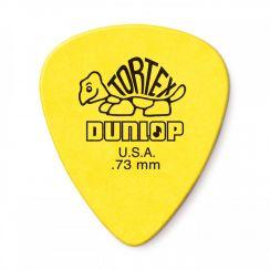 Dunlop 0.73mm Tortex Plectrum Geel